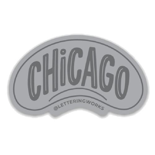 Chicago Bean Sticker