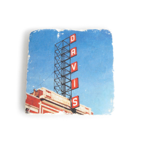 Davis Theater Tile Coaster