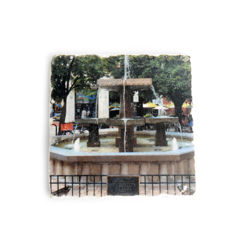 Giddings Plaza Tile Coaster