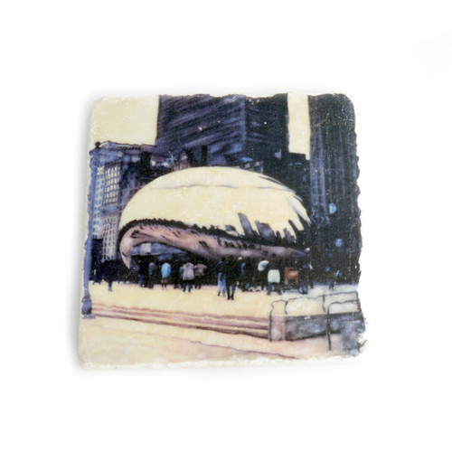 Cloud Gate Tile Coaster