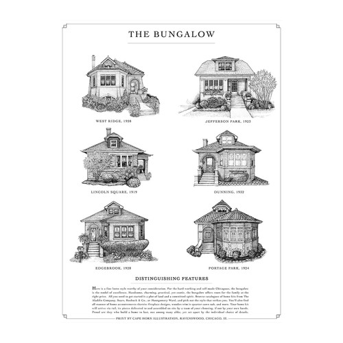 The Bungalow Print