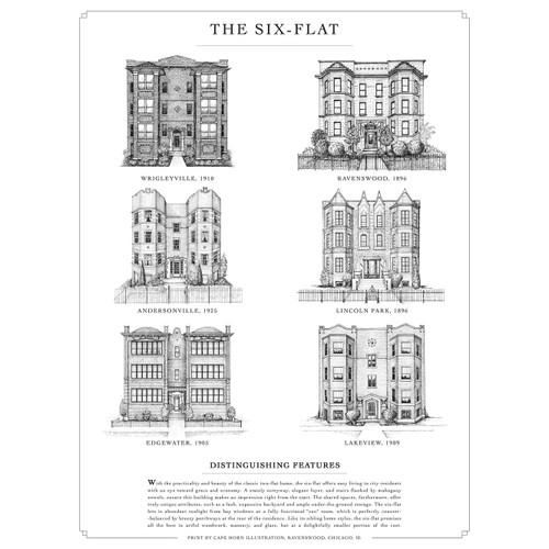 The Six-Flat Print