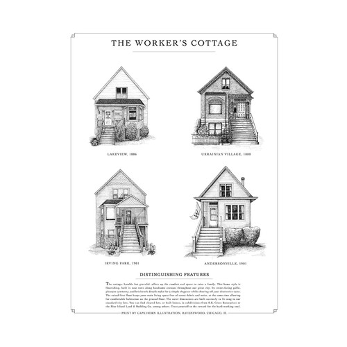The Worker's Cottage Print
