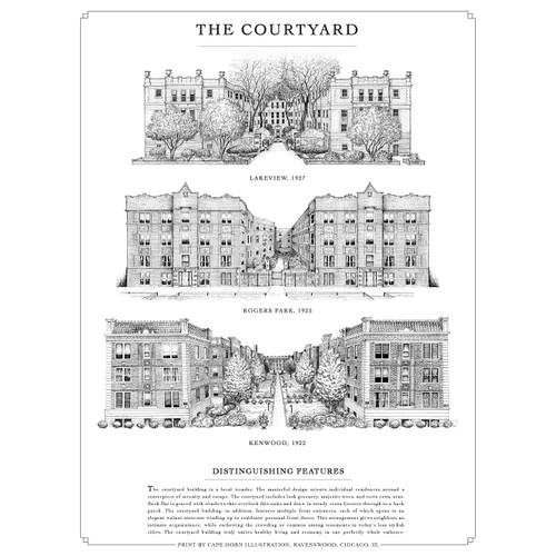 The Courtyard Print