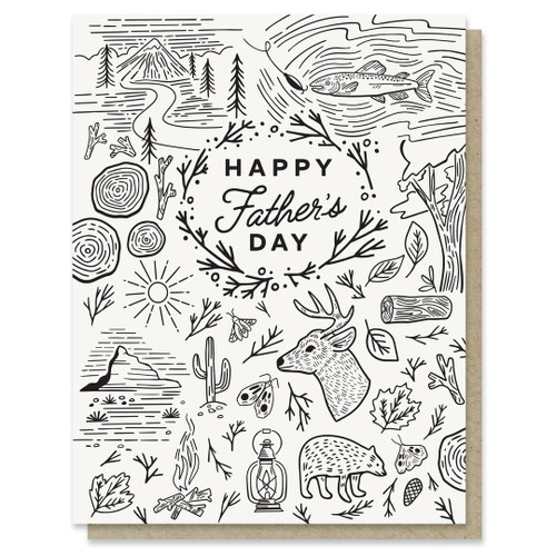 Fathers Day Adventure Card