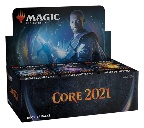 Draft Booster Box -- Core 2021