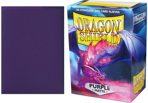 Dragon Shield Sleeves - Matte Purple