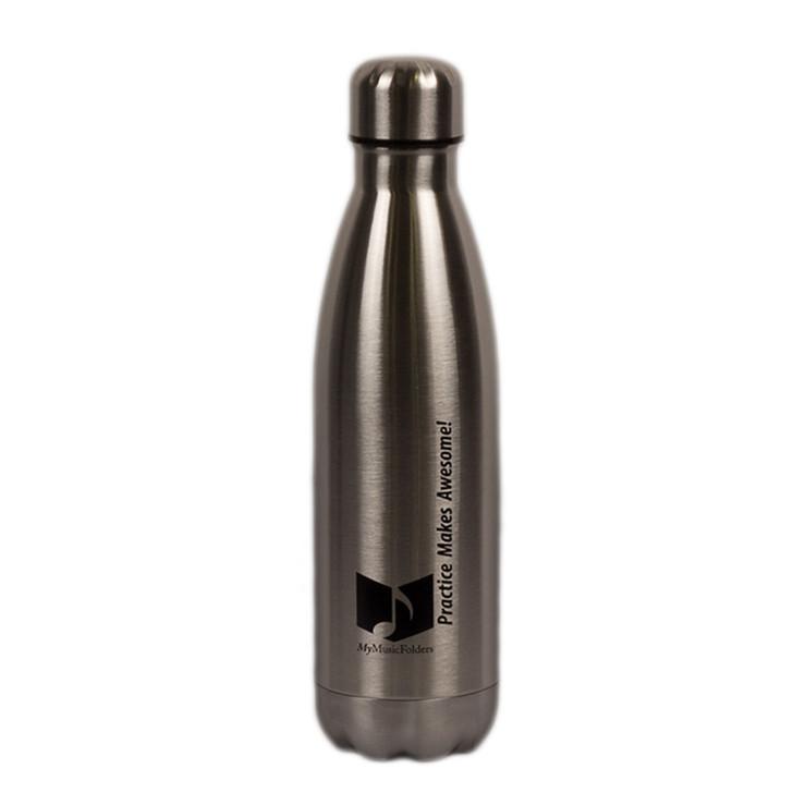 MyMusicFolders Steel Thermal Water Bottle