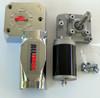 1.5HP Electric Tarp Motor 50:1 12VDC w/cover 3 hole  1 yr warranty