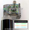 1.5HP Electric Tarp Motor 50:1 12VDC w/ Chrome Cover