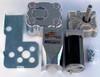 1.5 HP Electric Tarp Motor 60:1 12VDC w/cover 5 hole  1 yr warranty