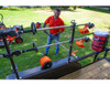 Buyers LT13 Lockable Trimmer Rack Carrier Holder for Up to 3 Trimmers for Trailers and Trucks Picture # 7