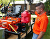 Buyers LT32 Locking Gas Container Rack For Landscaping Trailers, Garages, Sheds, Construction Vehicles Picture # 6