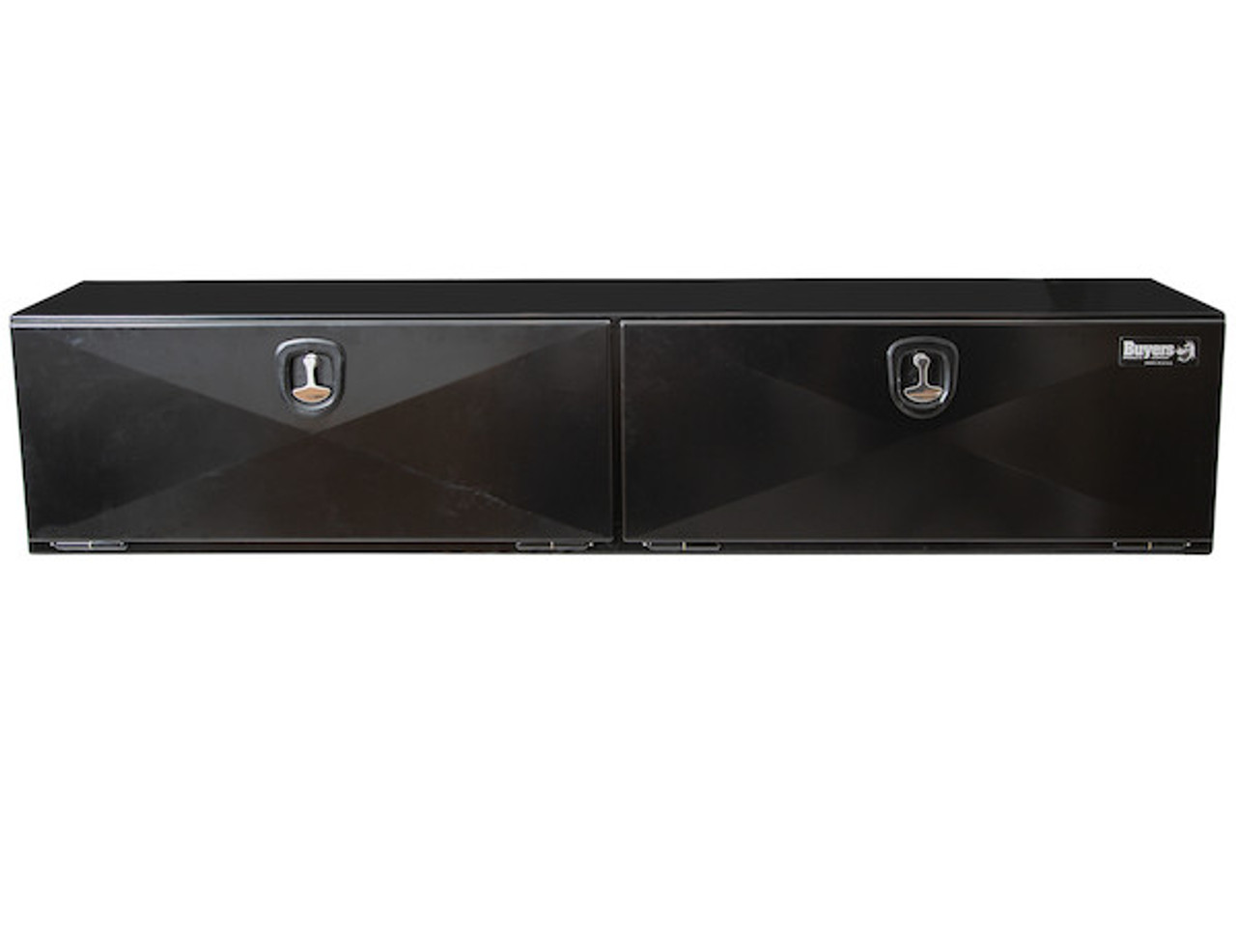"""1742335 BUYERS PRODUCTS XD BLACK STEEL UNDERBODY HEAVY DUTY TRUCK TOOLBOX 18""""Hx18""""Dx90""""W PICTURE # 2"""