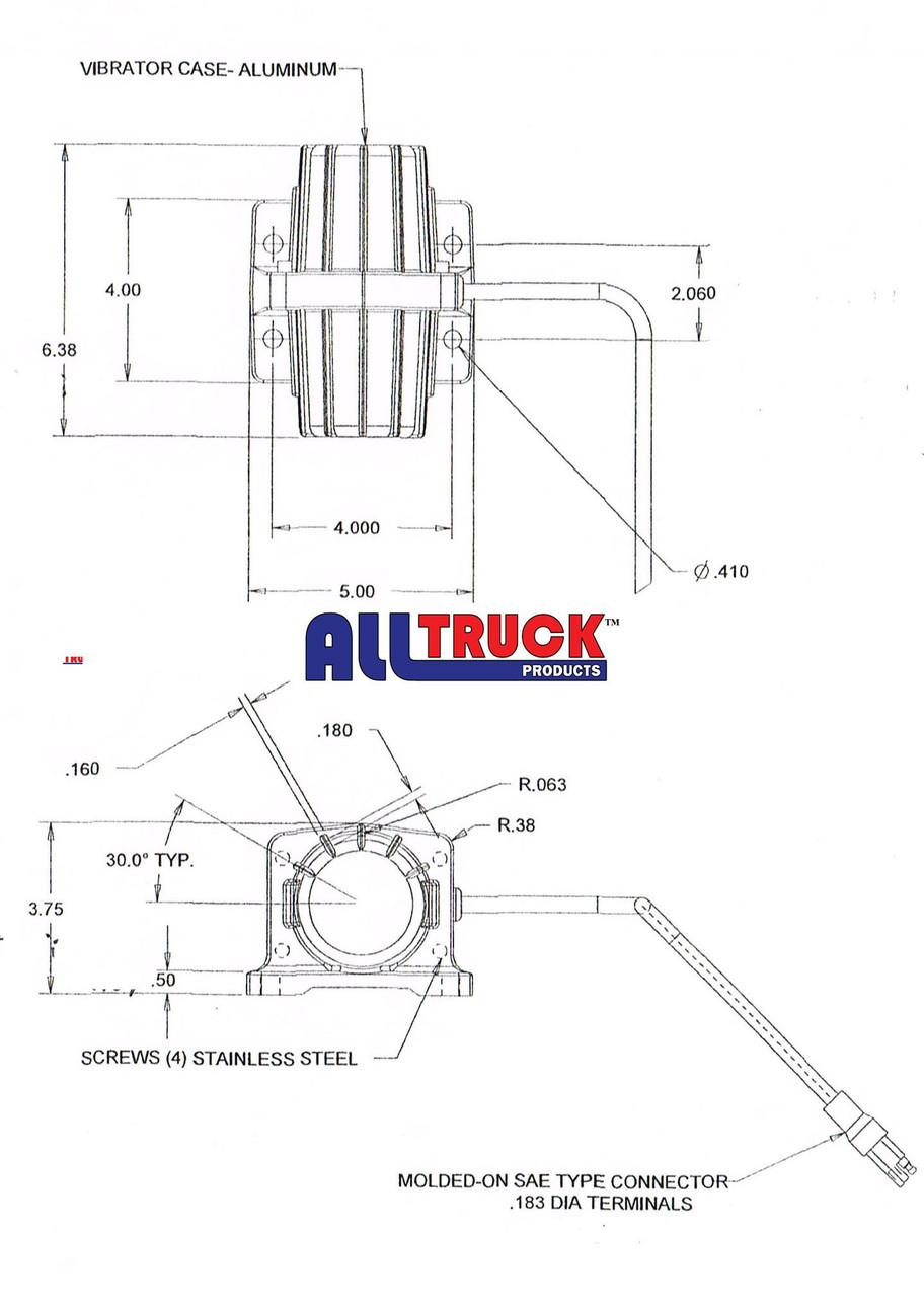 ALL TRUCK PRODUCTS ATPVB080 VIBRATOR 5
