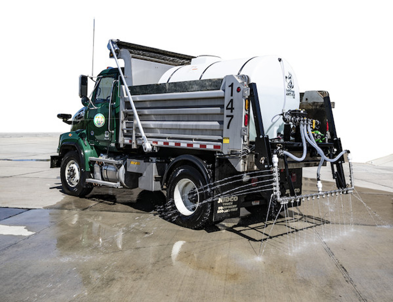 6192710 BUYERS SALTDOGG 1065 Gallon Hydraulic Anti-Ice System With One-Lane Spray Bar And Manual Application Rate Control  #4