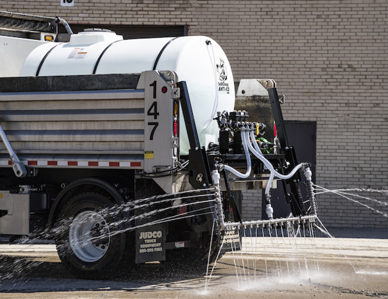 6192710 BUYERS SALTDOGG 1065 Gallon Hydraulic Anti-Ice System With One-Lane Spray Bar And Manual Application Rate Control  #5