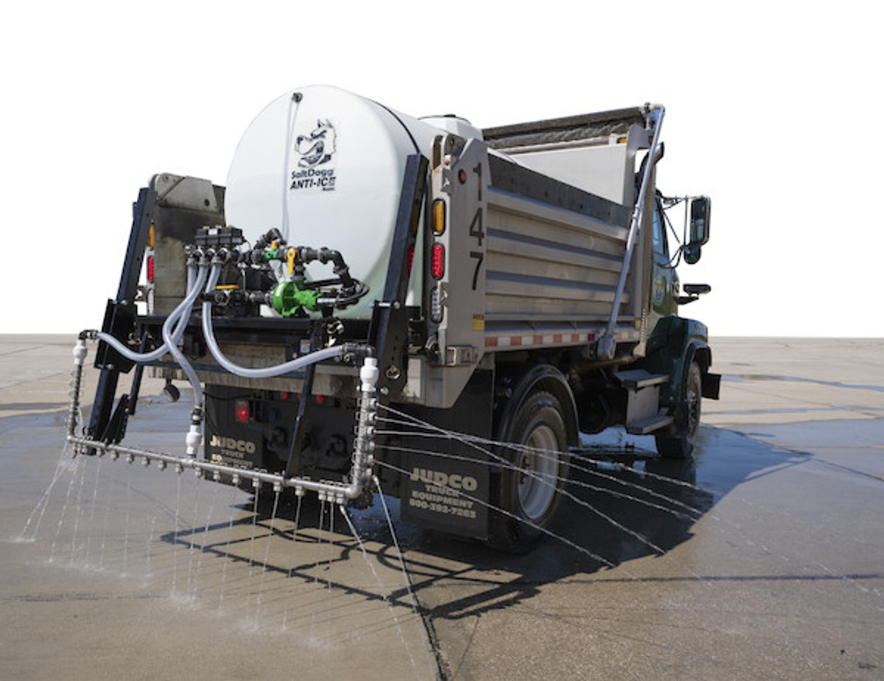 6192710 BUYERS SALTDOGG 1065 Gallon Hydraulic Anti-Ice System With One-Lane Spray Bar And Manual Application Rate Control  #6