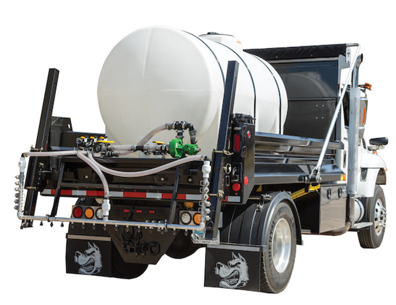 6192711 BUYERS SALTDOGG 1065 Gallon Hydraulic Anti-Ice System With One-Lane Spray Bar And Automatic Application Rate Control
