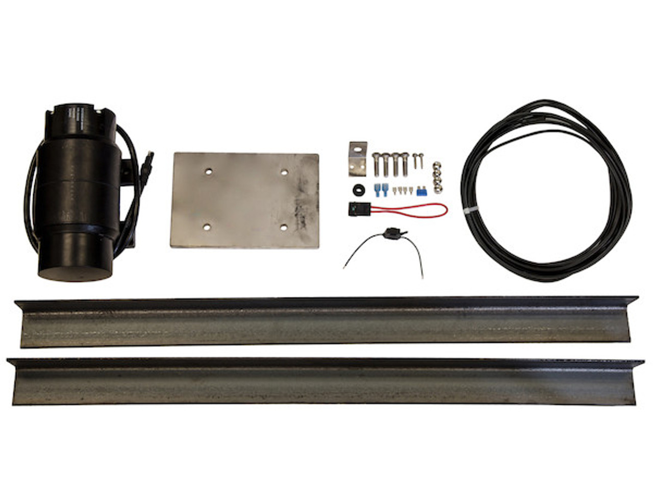 DBV900 900LB Force Vibrator with Mounting Kit for Dump trucks and Buyers Saltdogg Salt Spreader