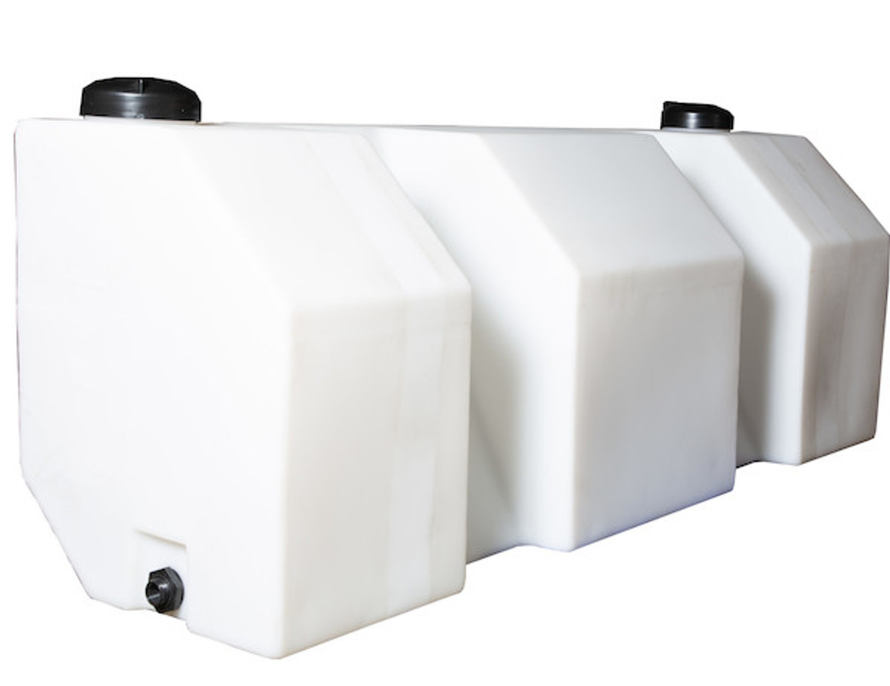 LS5 Buyers SaltDogg 12 VDC Pre-Wet Kit With Two 105-Gallon Wedge Poly V-Box Mount Reservoir Picture # 4