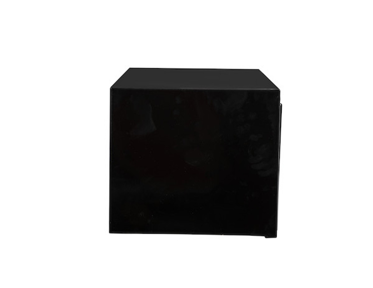 """1703304 BUYERS PRODUCTS BLACK STEEL UNDERBODY TRUCK TOOL BOX WITH BUILT-IN SHELF 14""""HX16""""DX30""""W Picture # 4"""