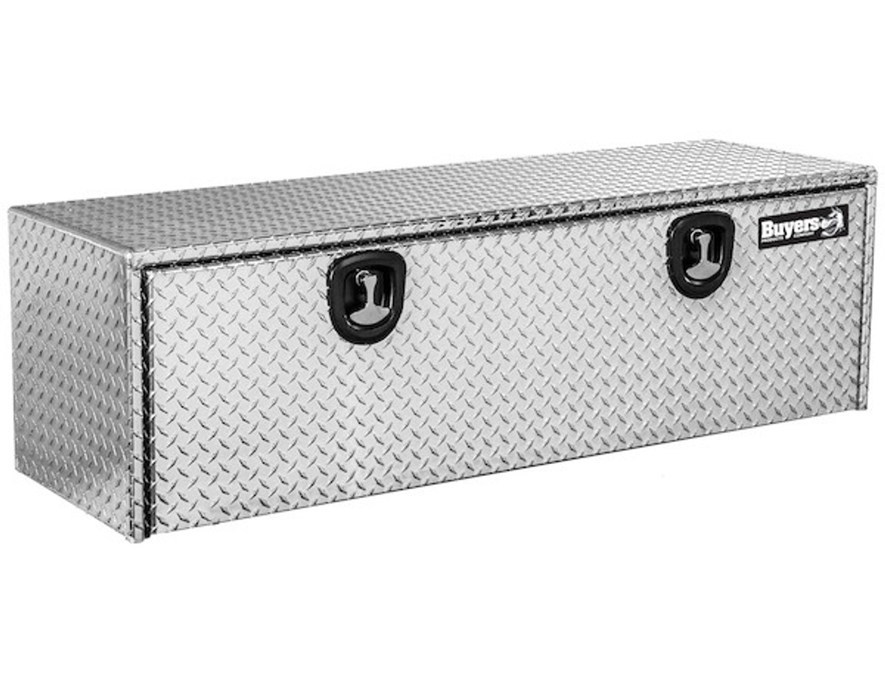 "1705147 BUYERS PRODUCTS DIAMOND TREAD ALUMINUM UNDERBODY TRUCK TOOLBOX 24""HX24""DX72""W"