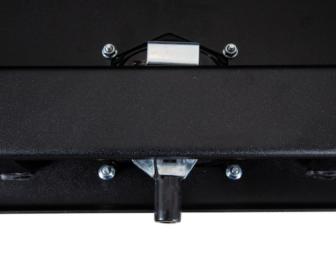 """1734503 BUYERS PRODUCTS TEXTURED MATTE BLACK STEEL UNDERBODY TRUCK TOOLBOX WITH 3-POINT LATCH 24""""Hx24""""Dx30""""W  Picture # 7"""