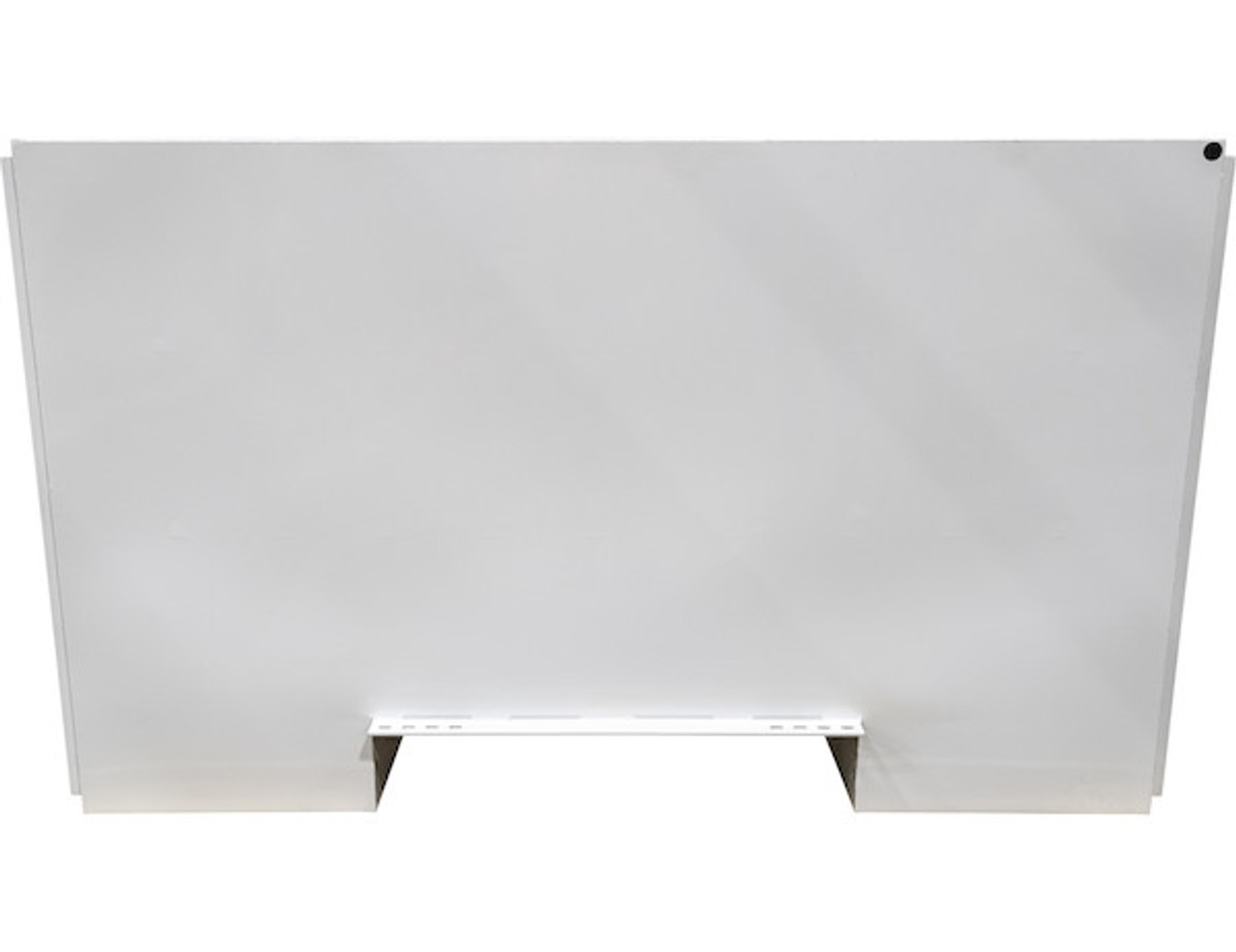 """BP965724W BUYERS WHITE STEEL STRAIGHT SIDE BACKPACK TRUCK TOOL BOX WITH OFFSET FLOOR 57""""HX24""""DX96""""W PICTURE # 10"""