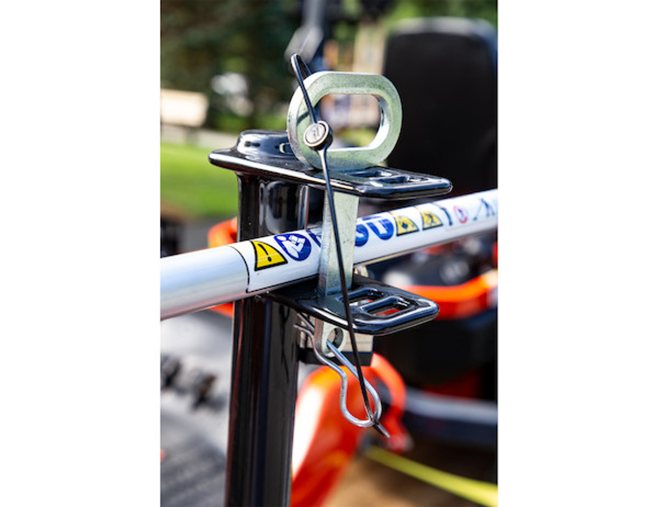 Buyers LT13 Lockable Trimmer Rack Carrier Holder for Up to 3 Trimmers for Trailers and Trucks Picture # 4