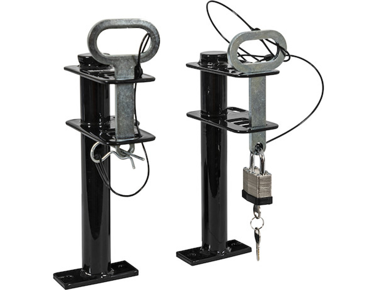 Buyers LT16 Lockable Trimmer Rack Carrier Holder for 1 Trimmer for Trailers and Trucks Picture # 2