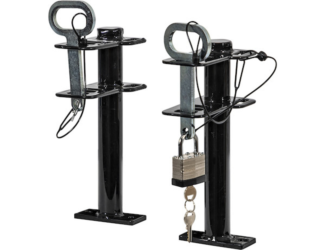 Buyers LT16 Lockable Trimmer Rack Carrier Holder for 1 Trimmer for Trailers and Trucks Picture # 3
