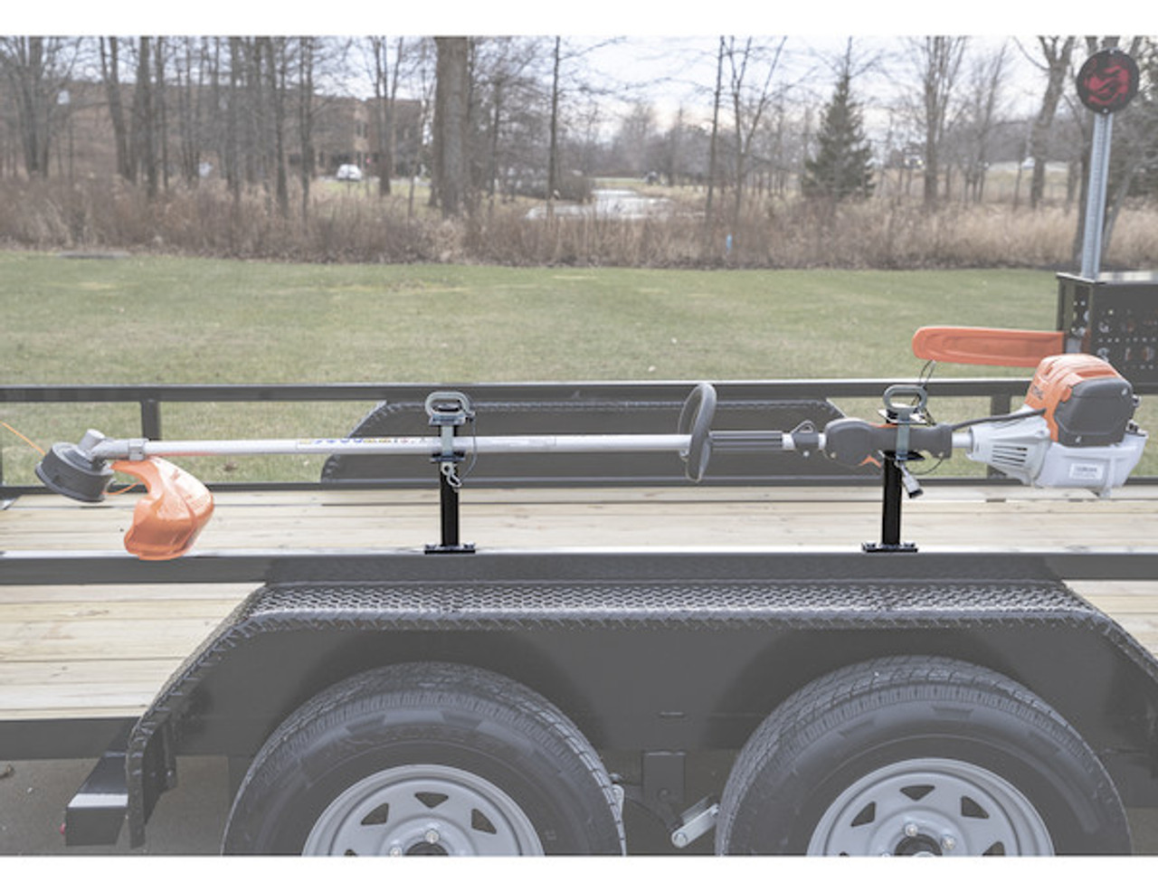 Buyers LT16 Lockable Trimmer Rack Carrier Holder for 1 Trimmer for Trailers and Trucks Picture # 4
