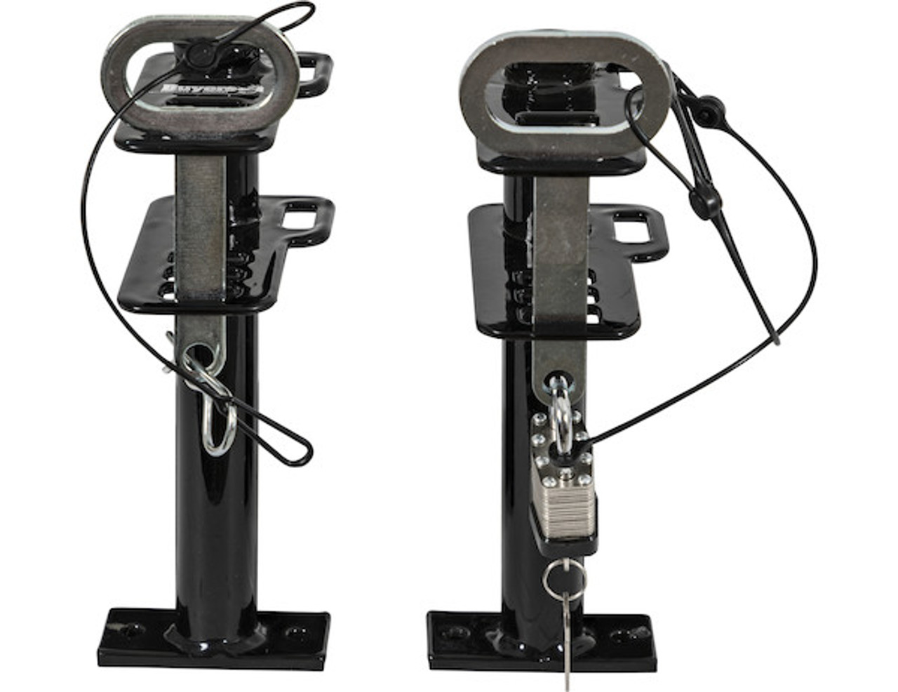 Buyers LT16 Lockable Trimmer Rack Carrier Holder for 1 Trimmer for Trailers and Trucks Picture # 7