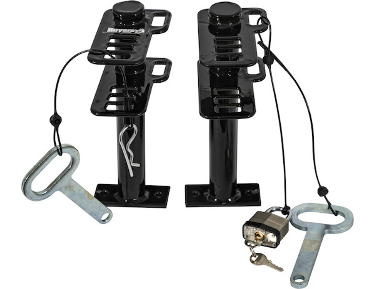 Buyers LT16 Lockable Trimmer Rack Carrier Holder for 1 Trimmer for Trailers and Trucks Picture # 9