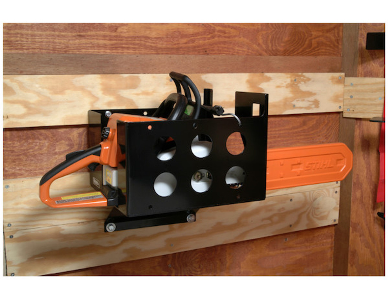 Buyers LT15 Multi-Rack storage for hedge trimmers, chainsaws and blowers for Trailers and Trucks Picture # 3