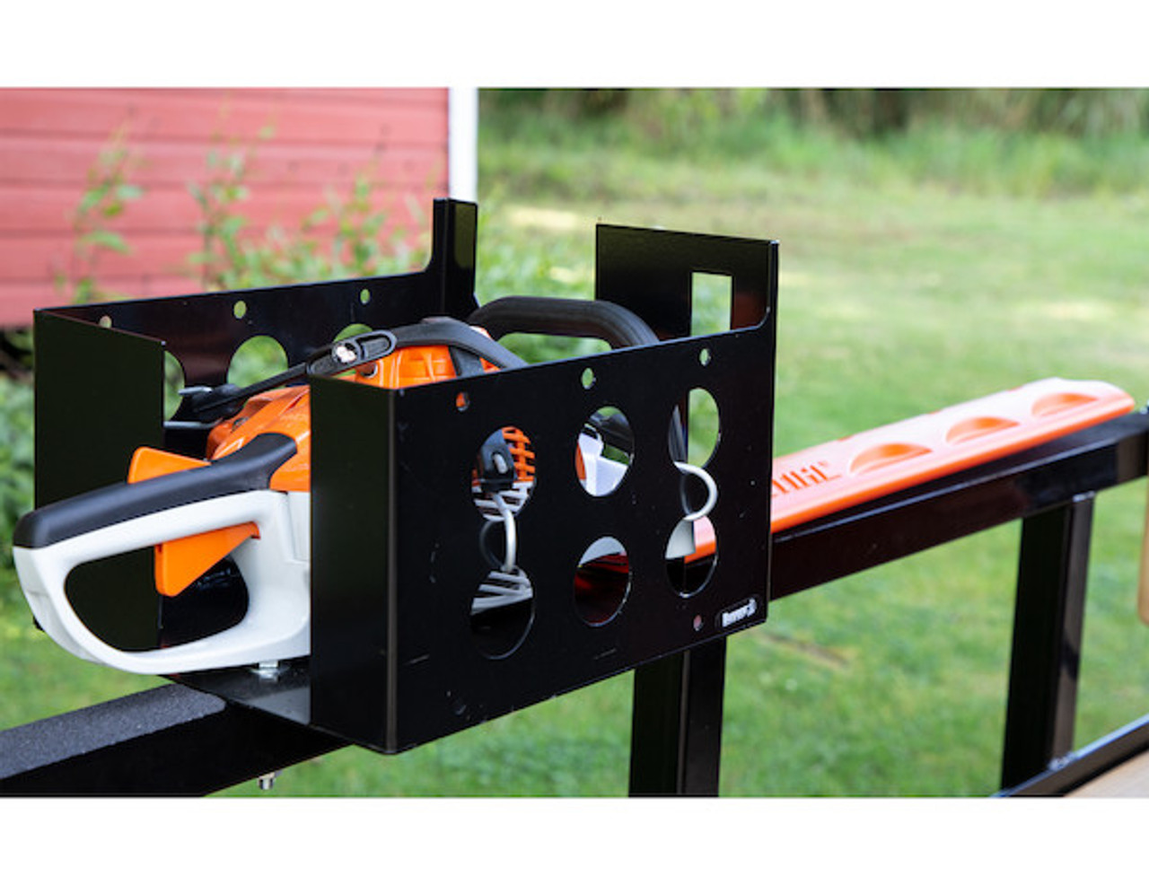 Buyers LT15 Multi-Rack storage for hedge trimmers, chainsaws and blowers for Trailers and Trucks Picture # 1