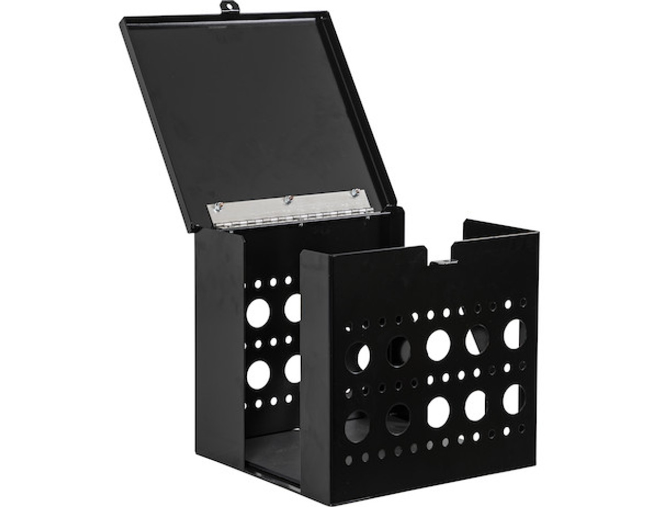 Buyers LT17 Multi-Tool Cage Storage With Lid For Open And Enclosed Landscape Trailers Picture # 1