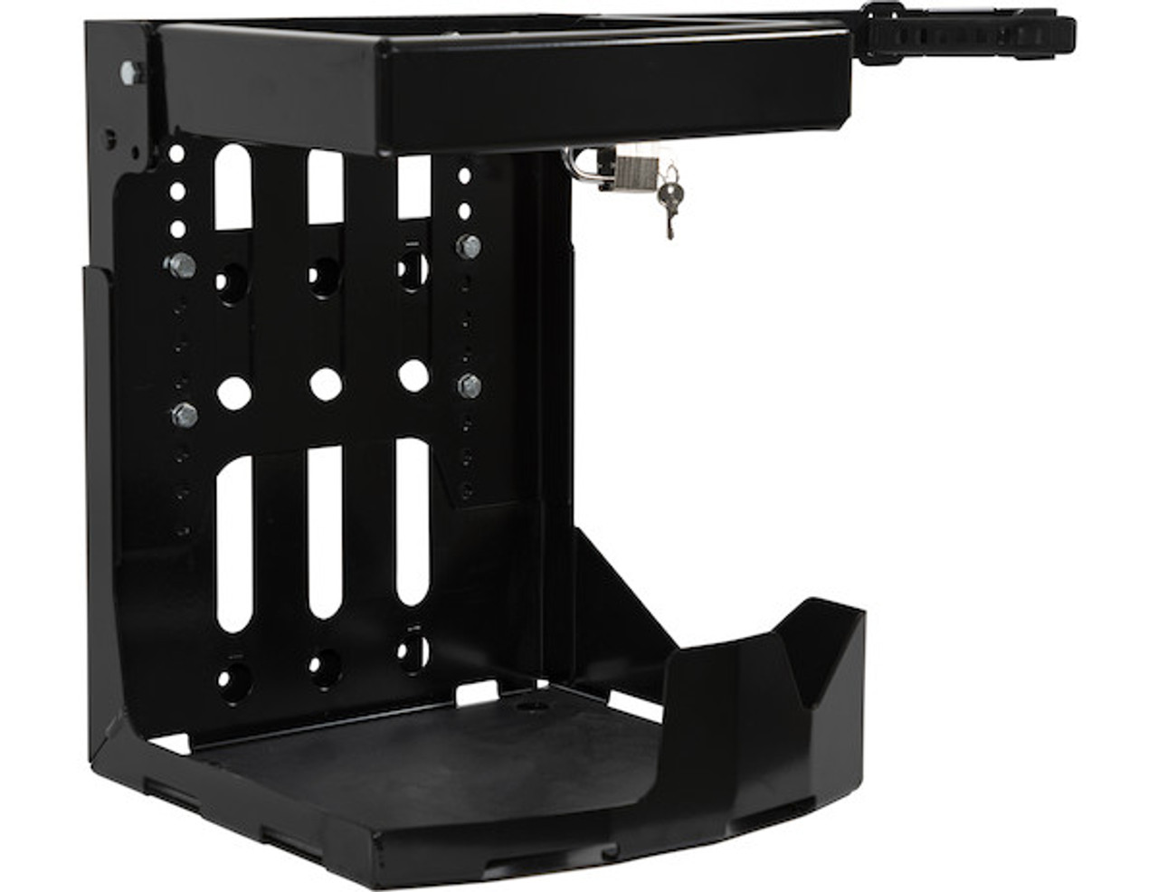 Buyers LT24 Adjustable Backpack Blower Rack For Open And Enclosed Landscape Trailers Picture # 1