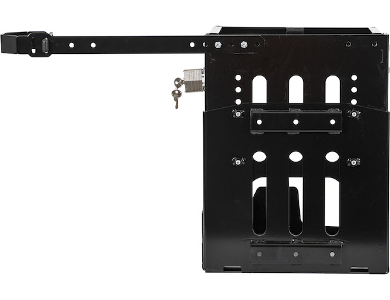 Buyers LT24 Adjustable Backpack Blower Rack For Open And Enclosed Landscape Trailers Picture # 3