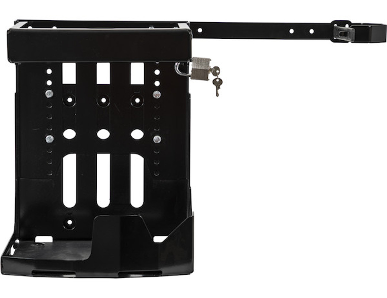 Buyers LT24 Adjustable Backpack Blower Rack For Open And Enclosed Landscape Trailers Picture # 6