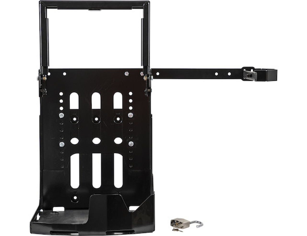 Buyers LT24 Adjustable Backpack Blower Rack For Open And Enclosed Landscape Trailers Picture # 7