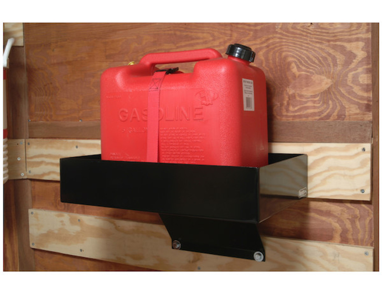 Buyers LT30 Gas Container Rack For Landscaping Trailers, Garages, Sheds, Construction Vehicles Picture # 2