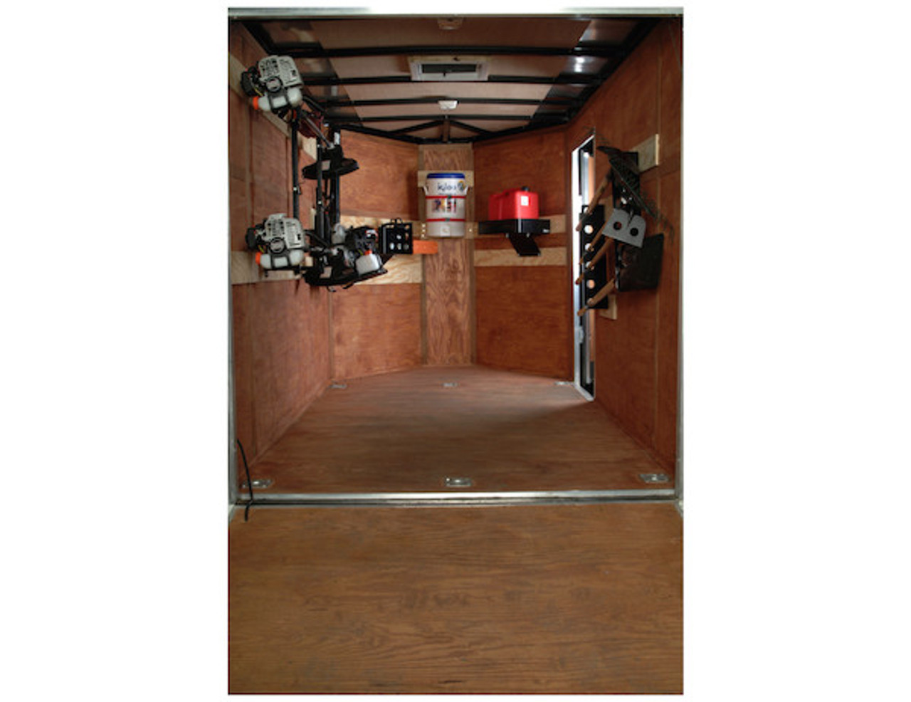 Buyers LT30 Gas Container Rack For Landscaping Trailers, Garages, Sheds, Construction Vehicles Picture # 3