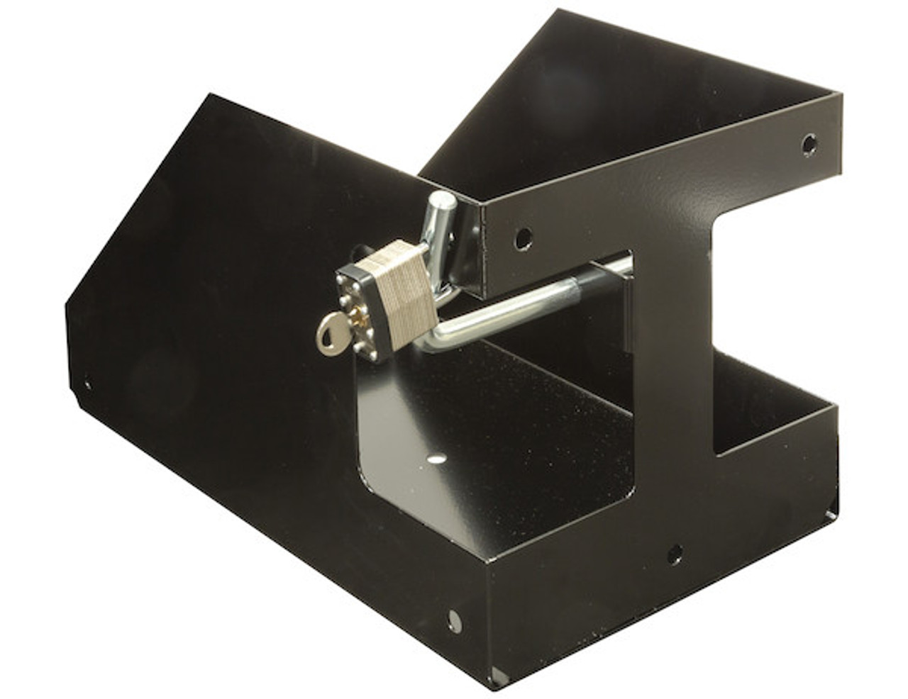 Buyers LT32 Locking Gas Container Rack For Landscaping Trailers, Garages, Sheds, Construction Vehicles Picture # 1
