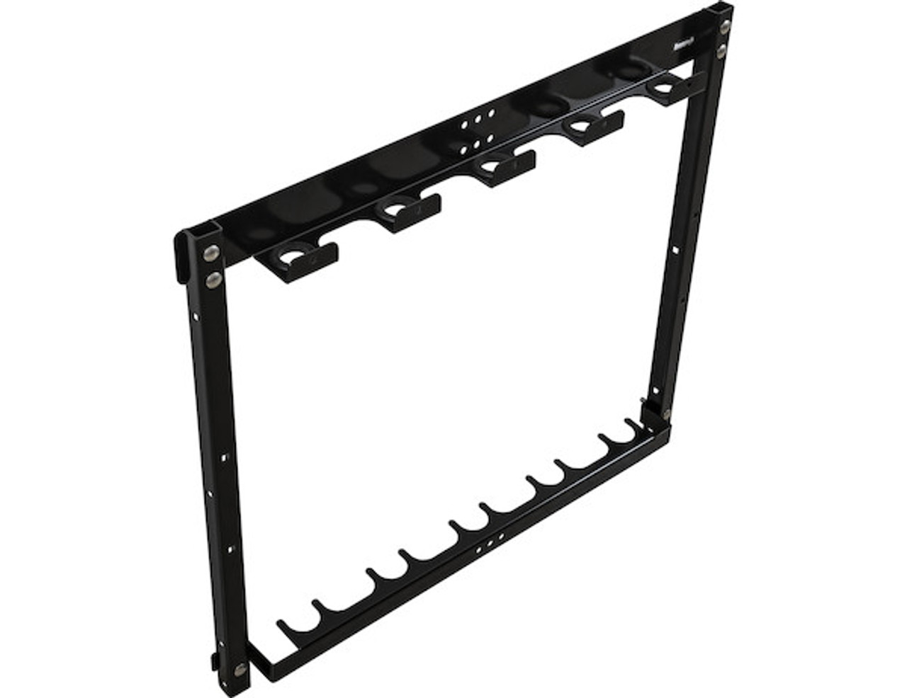 Buyers LT46 5 Position Vertical Hand Tool Rack For Open Landscape Trailers Picture # 1