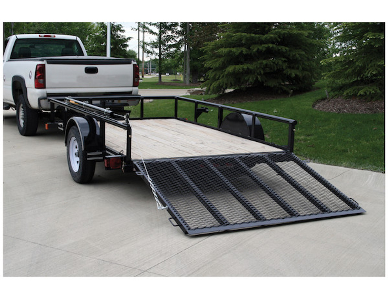 Buyers 5201000 EZ Gate™ Tailgate Assist for Landscaping Trailers and Open Style Trailers Picture # 2