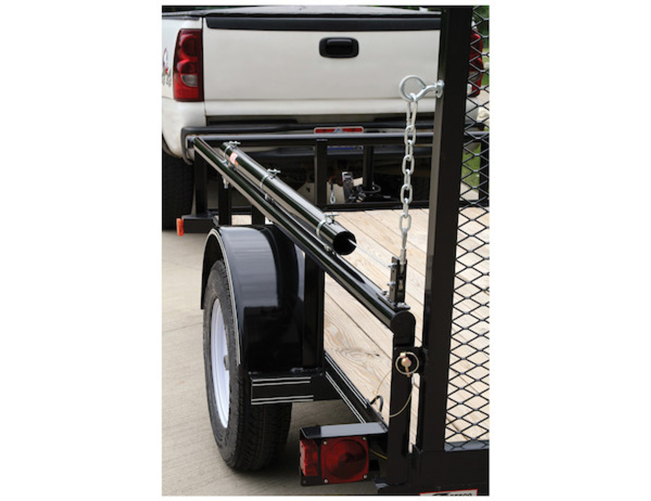 Buyers 5201000 EZ Gate™ Tailgate Assist for Landscaping Trailers and Open Style Trailers Picture # 3