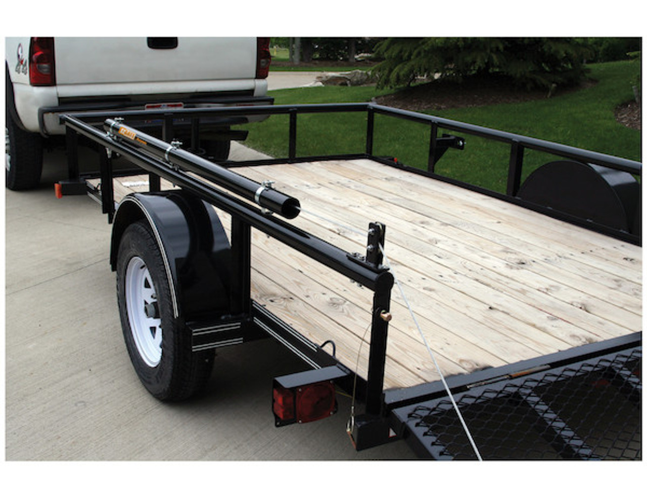 Buyers 5201000 EZ Gate™ Tailgate Assist for Landscaping Trailers and Open Style Trailers Picture # 4