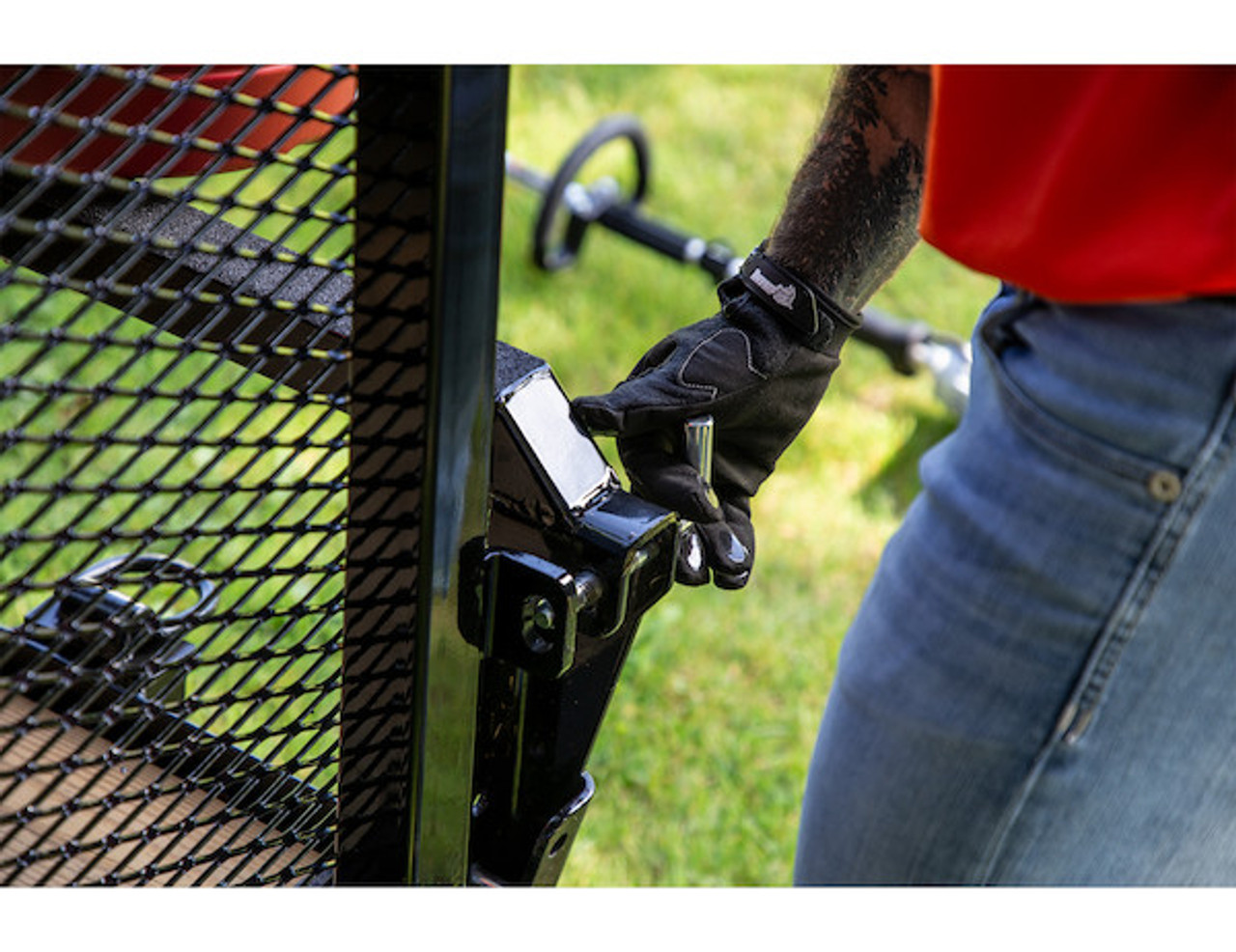 Buyers 5201000 EZ Gate™ Tailgate Assist for Landscaping Trailers and Open Style Trailers Picture # 6